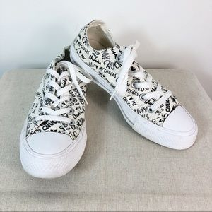 Converse All Star Spell Out Love Chuck Sneakers